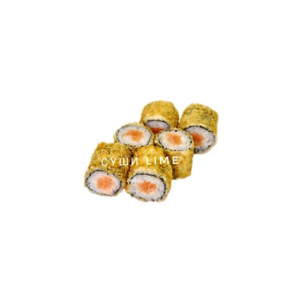 Мини ролл темпура с лососем