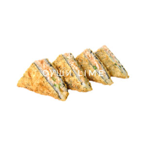 Сендвич темпура с лососем