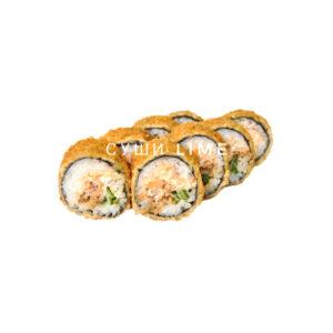 Сырный лосось темпура